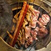 外国人シェフによるこだわり料理の数々!窯焼き肉が自慢