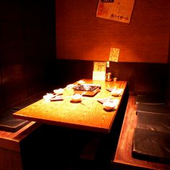 テーブル半個室あり(4名~10名様用)