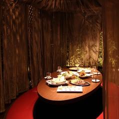 人気のカーテン個室