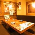 ゆったりお寛ぎ頂けるテーブル席です☆ご家族でのお食事会など、様々なシーンに人気です♪