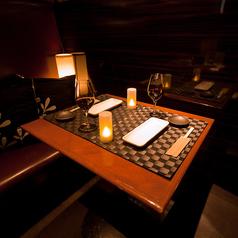 デートや女子会、2名~20名様でのご利用に最適な個室席もございます。お二人の空間でもゆったり寛げるような造りになっています。池袋で、人気の完全個室居酒屋です。!◇池袋女子会・誕生日・満足度高いのオシャレ空間で女子会・合コン!プライベート感溢れる個室で大人の贅沢宴会♪