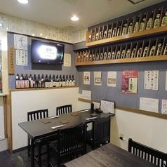 ◆こじんまりとしたアットホームな店内。各種宴会に最適です◎〈新宿 居酒屋 和食 鰻 串 しゃぶしゃぶ 日本酒 焼酎 宴会〉