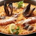 料理メニュー写真海の幸のパエジャ