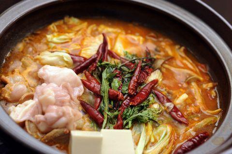 歓送迎会に!【花コース】地鶏と和牛モツのトマト鍋!!人気メニューを凝縮した贅沢コース
