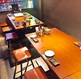 【6~12名様テーブル席】宴会にぴったり♪会社宴会・サークル・女子会・合コン等の各種ご宴会に◎様々なご宴会に最適な飲み放題付コースも多数ご用意しております。人数に合わせた個室席で周りを気にせず、ごゆっくりと飲み会・ご宴会をお楽しみください。お得な飲み放題付コース・幹事無料クーポンご用意しています。