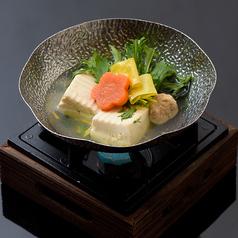 湯葉と豆富の小鍋