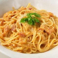 料理メニュー写真ベーコン&トマトクリーム