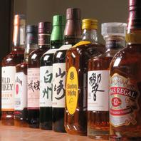 ドリンクはワイン・焼酎・日本酒それぞれ豊富☆