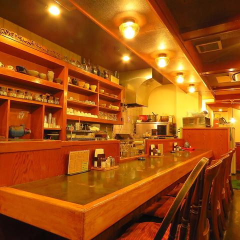 亀有で創業40年自家焙煎コーヒー専門店!ノスタルジーな店内『心込めたおもてなし』!