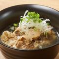料理メニュー写真骨付ほろほろ肉のテールスープ