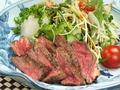料理メニュー写真ヘレ肉の塩胡椒焼き
