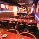 ☆お洒落なテーブル席☆20人以上の宴会も可能!