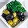 スペイン産オリーブ ブラックとグリーン