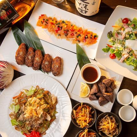 ◆一色コース◆3h飲放×料理7品◆迷ったらこれ!国産牛ステーキ等 3,600円→ 2,600円