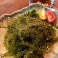 料理メニュー写真海ぶどう刺身