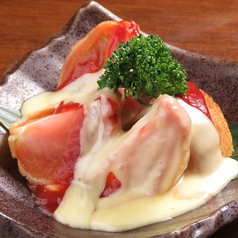 京トマトフライ~クリームチーズソース~