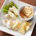 料理メニュー写真■おつまみチーズ盛り合わせ