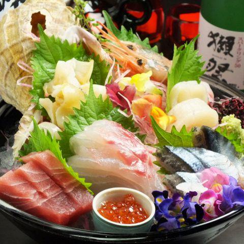 鮮魚コース3000円/4000円/5000円※ご予算に合わせて内容ご相談いたします。