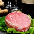 料理メニュー写真黒毛和牛ヘレステーキ 80g