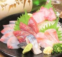 海鮮の品質に絶対の自信あり。仲買人提携のお店。