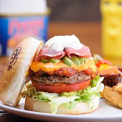 パンケーキ&ハンバーガー cafe ピギーキャットダイナーのおすすめ料理1