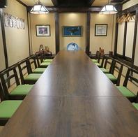 大宴会にも対応可能な和室のテーブル席!