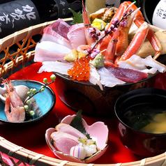 料理メニュー写真ミニ海鮮丼