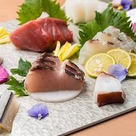 海の幸を詰め込んだコースや逸品料理をご堪能☆