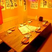 テーブルはつなげて小・中人数の宴会にも最適♪