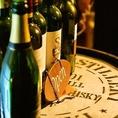 ◆厳選ワイン◆世界各国から選んだカジュアルなワインメニューが充実♪さっぱりとしたメニューから自慢の肉料理にまであわせられるワインを揃えました。赤、白各種にロゼ・スパークリング・赤(微発泡)もメニューにございます。ぜひ飲み比べなどで豊富なワインをお楽しみください。