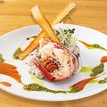 料理メニュー写真オマール海老を使ったリゾット風雑穀ライス