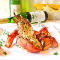 料理メニュー写真オマール海老のテルミドール・ソース・焦がしハーブムース