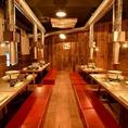 新橋駅徒歩5分と好立地な焼肉店!宴会・飲み会の際には是非『昭和大衆ホルモン』へ♪お一人様から団体様まで各種コース料理、お席とご用意しております。また、フロア貸切の最小人数に関しましては、店舗までお問い合わせください。
