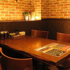 【少人数様も歓迎◎】テーブル席でゆったり!ランチやサク飲みに♪