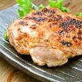 料理メニュー写真大山鶏モモ肉香味焼