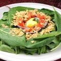 料理メニュー写真ホウレン草のサラダ