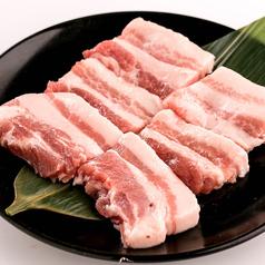 料理メニュー写真豚サムギョプサル