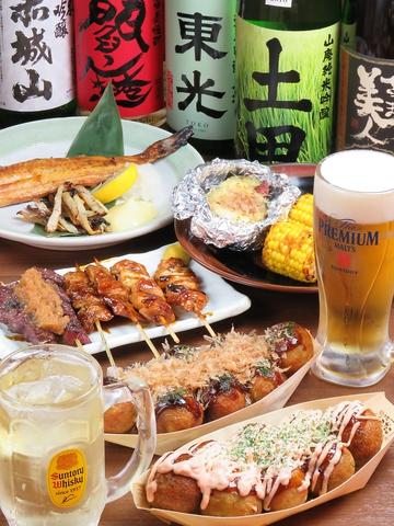 【上野駅チカ】銀だこのたこ焼きとハイボールを楽しむ酒場♪おつまみも豊富です!