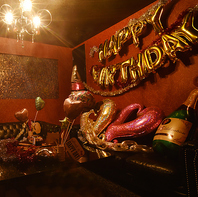 誕生日は…VIP個室を店内装飾☆主役感動サプライズ☆