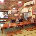 京町屋風の店内は、どこか懐かしい雰囲気◎
