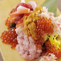 豪快!海鮮こぼれ寿司