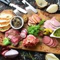 料理メニュー写真シャルキュトリー(お肉の前菜)盛り合わせ  3種盛り合わせ/5種盛り合わせ
