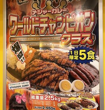 ゴーゴーカレー 仙台一番町スタジアムのおすすめ料理1