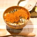 料理メニュー写真あさりごはんのミニイクラ丼(季節もの)