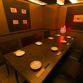 合コンなどにも人気のデザイナーズ完全個室。