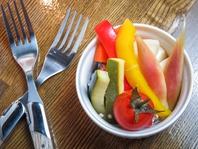 新鮮な野菜を毎日仕入れます!さっぱり頂ける料理を用意
