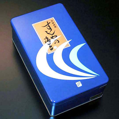 海苔(缶入り:半切り7枚x5袋)