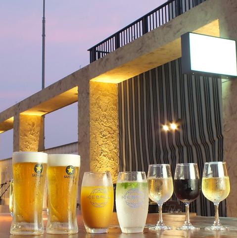 ルアンガーデン 茅ヶ崎ビアガーデン Chigasaki Beer Garden スペインクラブ屋上
