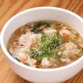 料理メニュー写真ホルモンスープ