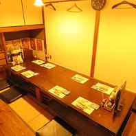 【1F】最大10名様までの掘りごたつ個室席!